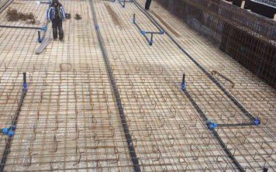 Изграждане на басейн в рамките на един ден, без прекъсване на бетона