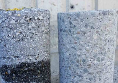 Проби торкрет бетон