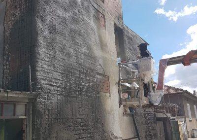 укрепване на сграда в гр. Разлог (9)