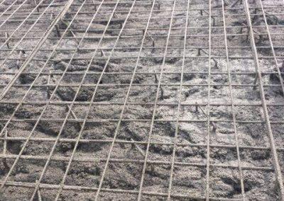 Басейн изграден с пръскан бетон