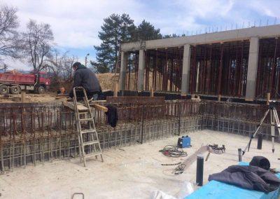 Строителство на басейни с торкрет бетон