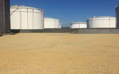 Торкретиране на петролна база гр. Ихтиман