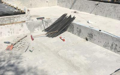 Структурно укрепване и ремонт на басейн