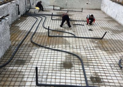Структурно укрепване и ремонт на басейн резиденция Минстрой