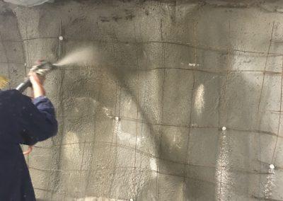 Полагане на хидроизолация на подземен етаж и последващо торкретиране, ж.к. Лагера, гр. София