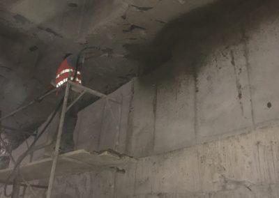 Изграждане на римски стен на 12-та метростанция, гр София