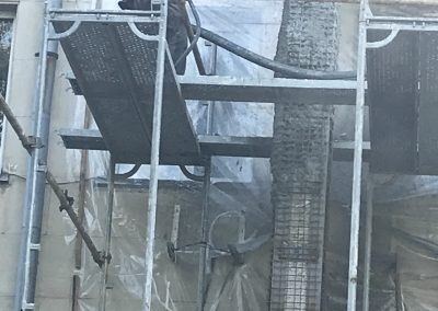 Укрепване на Районен съд, гр. Разград с торкрет бетон