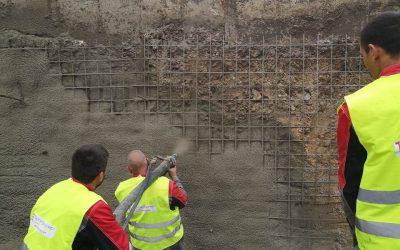 Укрепване на изкоп с торкрет бетон – Торкрет Експерт ЕООД