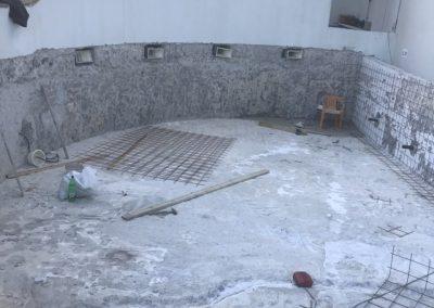 Ремонт на басейн с торкрет бетон