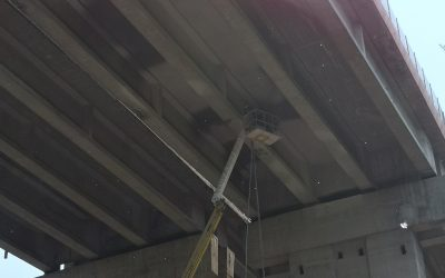 Укрепване на виадукти с торкрет бетон, АМ Хемус 37 км.