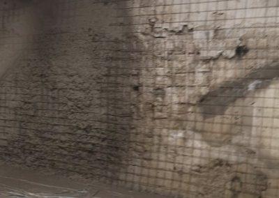 Торкретиране на подземен гараж