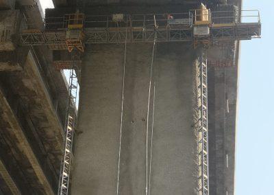 укрепване на виадукти с торкрет бетон АМ ХЕМуС 37ми км