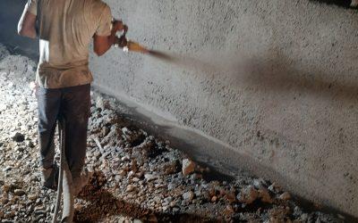 Укрепване на подпорна стена, Ловен Дом Търсава