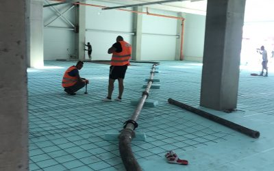 Доставка на бетон за шлайфана бетонова настилка