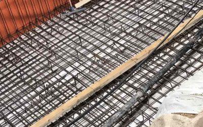 Изпомпване на бетон със стационарна помпа, гр София
